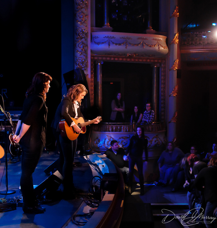 Brandi Carlile performs in a solo concert at The Music Hall, Portsmouth, NH. Nov, 2011