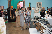 HIKARI YOKOHAMA; TIPHAINE DE LUSSIS, Royal Academy Summer exhibition private view. Piccadilly. London. 3 June 2015