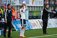 &Aring;lesund 20120427. Bilder fra eliteseriekampen mellom AaFK og Rosenborg p&aring; Color Line Stadion i &Aring;lesund. Kampen endte 2-2.<br /> Foto: Svein Ove Ekornesv&aring;g