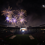 02 September 2017: 101.5 KGB Sky Show 42. The Aztecs beat the Aggies 38-17 at Qualcomm Stadium in San Diego, California. <br /> www.sdsuaztecphotos.com