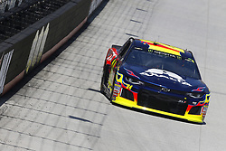April 13, 2018 - Bristol, Tennessee, United States of America - April 13, 2018 - Bristol, Tennessee, USA: William Byron (24) bring his racecar down the backstretch during opening practice for the Food City 500 at Bristol Motor Speedway in Bristol, Tennessee. (Credit Image: © Chris Owens Asp Inc/ASP via ZUMA Wire)