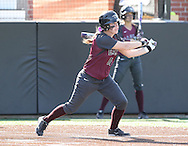 April 25, 2014: The Texas A&M International University Dustdevils play against the Oklahoma Christian University Lady Eagles at Tom Heath Field at Lawson Plaza on the campus of Oklahoma Christian University.