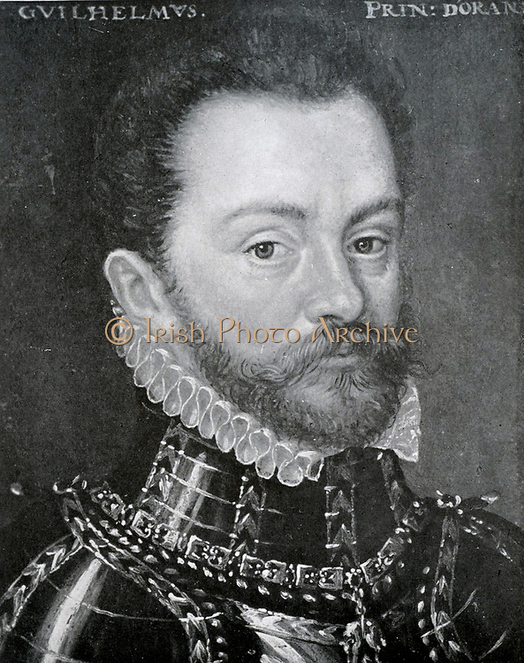 William I, Prince of Orange (24 April 1533 – 10 July 1584), also widely known as William the Silent Painting by an unknown artist, approx. 1556, Vienna, Kunsthistorisches Museum.