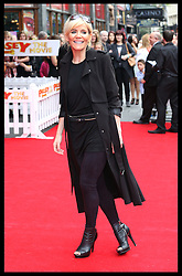 Image licensed to i-Images Picture Agency. 13/07/2014. London, United Kingdom. Michelle Collins at the World premiere of Pudsey The Dog : The Movie in London.  Picture by Stephen Lock / i-Images