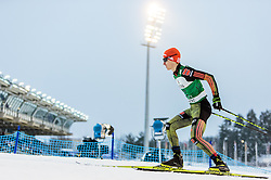 19.02.2016, Salpausselkae Stadion, Lahti, FIN, FIS Weltcup Nordische Kombination, Lahti, Langlauf, im Bild Manuel Faisst (GER) // Manuel Faisst of Germany competes during Cross Country Gundersen Race of FIS Nordic Combined World Cup, Lahti Ski Games at the Salpausselkae Stadium in Lahti, Finland on 2016/02/19. EXPA Pictures © 2016, PhotoCredit: EXPA/ JFK