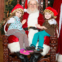Santa at the Hotel Galvez 2015
