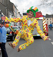 18/03/2013  Mike Carey  in the Gort St Patrick's Day Parade in South Galway. Picture:Andrew Downes.