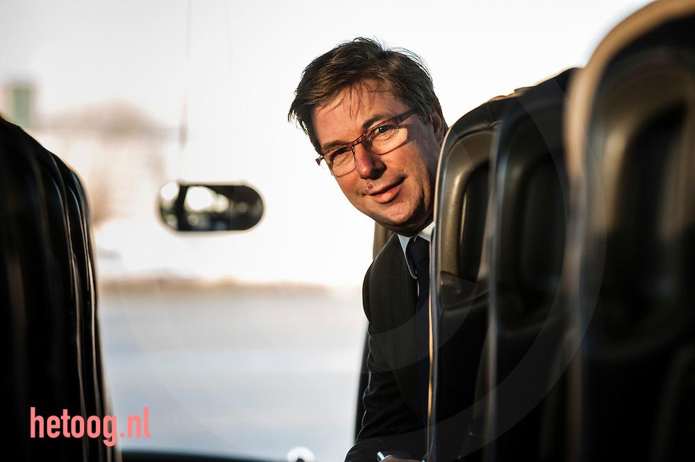 nedrland, Goor 20dec2013 OAD dhr. Frans Schuitemaker directeur van OAD. Bij interview door Job Woudt