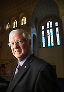 Police Chaplain inside the chapel at Police Academy in Glen Waverly, Reverend Jim Pilmer. Photo By Craig Sillitoe This photograph can be used for non commercial uses with attribution. Credit: Craig Sillitoe Photography / http://www.csillitoe.com<br />