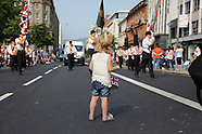 Belfast Orange Order Parade 12/07/2013