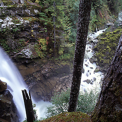 Nooksack Falls, Mt. Baker-Snoqualmie National Forest, Washington, US