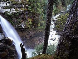 Nooksack Falls, Mt. Baker-Snoqualmie National Forest, Washington, US