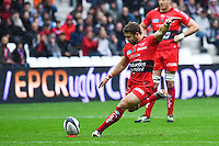 Leigh Halfpenny - 19.04.2015 - Toulon / Leinster - 1/2Finale European Champions Cup -Marseille<br />