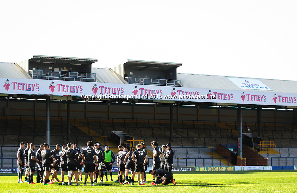 22/10/2015 - Rugby League - New Zealand Kiwis Captain's Run - Headingley Stadium, Leeds, England - A General View (GV).<br /> Photo credit: Alex Whitehead / www.photosport.nz
