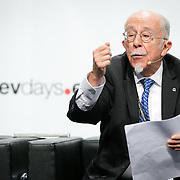 20160615 - Brussels , Belgium - 2016 June 15th - European Development Days - Digital technologies contribution to the Sustainable Development Goals - Claudio Gonzalez Vega , Chairman of the Board of Trustees , BBVA Microfinance Foundation © European Union