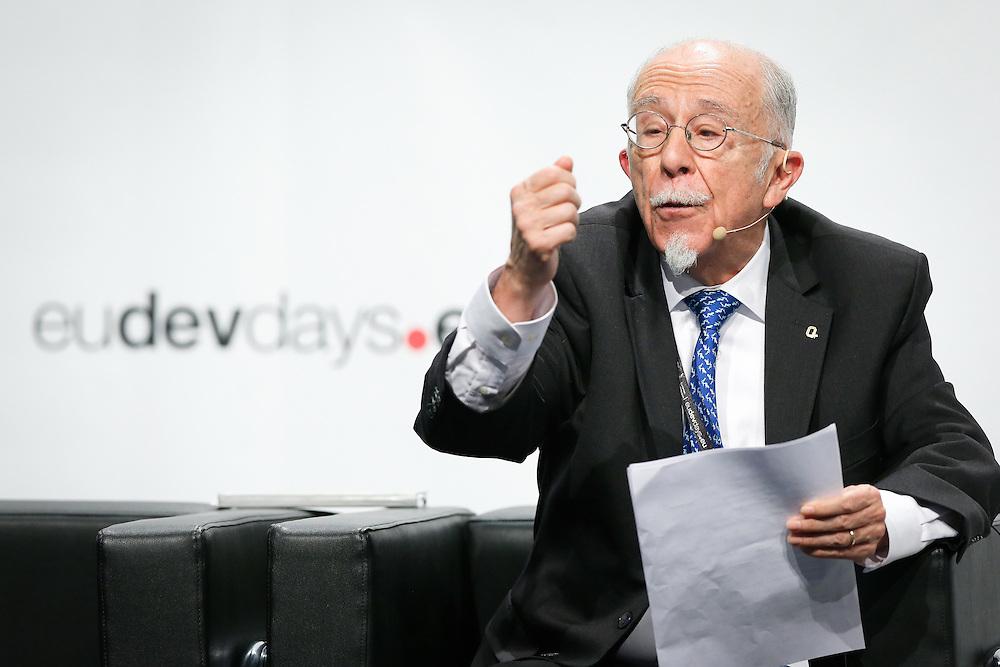 20160615 - Brussels , Belgium - 2016 June 15th - European Development Days - Digital technologies contribution to the Sustainable Development Goals - Claudio Gonzalez Vega , Chairman of the Board of Trustees , BBVA Microfinance Foundation © European Union