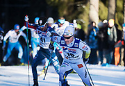 LAHTIS, FINLAND - 5 MARS: Jens Burman under herrarnas 50 km mass start under FIS Nordic World Ski Championships den 5 mars , 2017 i Lahti, Finland. <br /> Foto: Nils Petter Nilsson/Ombrello<br /> ***BETALBILD***