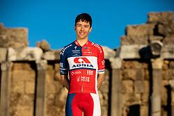 Ziga Groselj during photo session of KK Adria Mobil before new cycling season, on January 17, 2019 in Side, Turkey. Photo by Vid Ponikvar / Sportida