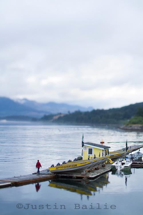 Jetty Fishery along Nehalem Bay, OR