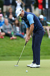June 23, 2018 - Cromwell, Connecticut, United States - Zach Johnson putts the 8th green during the third round of the Travelers Championship at TPC River Highlands. (Credit Image: © Debby Wong via ZUMA Wire)