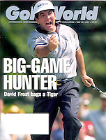 David Frost - 1997 Colonial Invitational - Fort Worth, TX - Golf Digest/Golf World magazine