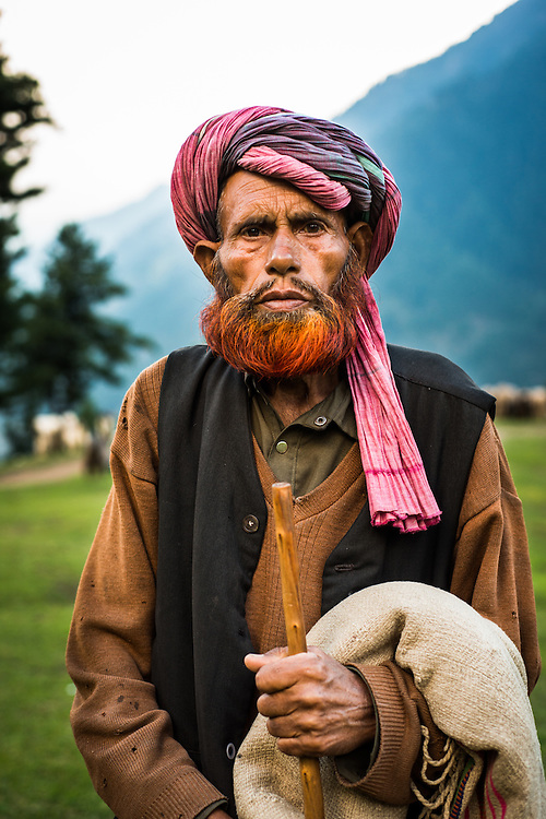 Nomadic shepherds also known as 'Gujjars' grace their sheep and keep moving along the mountains of Pahalgam and surrounding areas. <br />