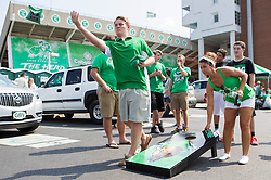 Sep 6, 2015; Huntington, WV, USA; Marshall fans play corn hole before a game between the Marshall Thundering Herd and the Purdue Boilermakers at Joan C. Edwards Stadium. Mandatory Credit: Ben Queen-USA TODAY Sports