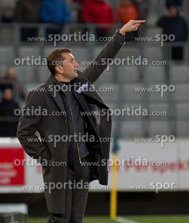 19.11.2011, Tivoli Stadion, Innsbruck, AUT, 1. FBL, FC Wacker Innsbruck vs SV Mattersburg, im Bild Walter Kogler, (FC Wacker Innsbruck, Trainer), EXPA Pictures © 2011, PhotoCredit: EXPA/ P.Rinderer