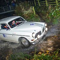 Car 52 David Morgan Martyn Taylor Volvo 123GT