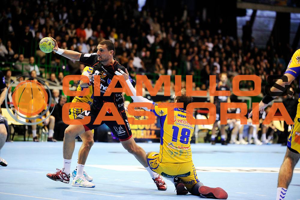 DESCRIZIONE : France Hand D1 Coupe de la Ligue  Finale a Nantes<br /> GIOCATORE : Hmam Wissem<br /> SQUADRA : Montpellier<br /> EVENTO : FRANCE Hand D1 Coupe de la Ligue <br /> GARA : Montpellier St Raphael<br /> DATA : 11/12/2011<br /> CATEGORIA : Hand D1 <br /> SPORT : Handball<br /> AUTORE : JF Molliere <br /> Galleria : France Hand 2011-2012 Action<br /> Fotonotizia : France Hand D1 Coupe de la Ligue Finale a Nantes<br /> Predefinita :