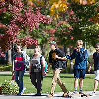 Fall campus scenes, Allison Corona photo.