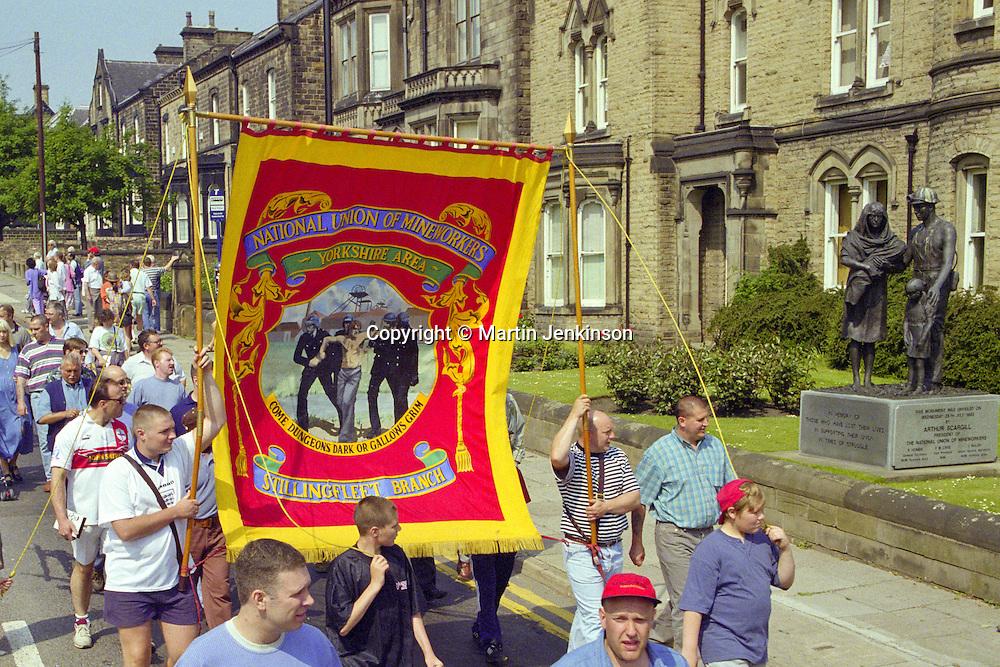 Yorkshire Miners Gala Barnsley 16/6//96