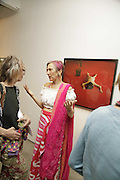 Carol Macniicoll and Silvia Ziranek, The Living Is Easy - private view . Flowers East, 82 Kingsland Road, London, E2, Mixed photography exhibition. 10 August 2006. ONE TIME USE ONLY - DO NOT ARCHIVE  © Copyright Photograph by Dafydd Jones 66 Stockwell Park Rd. London SW9 0DA Tel 020 7733 0108 www.dafjones.com