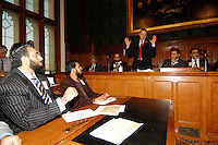 LONDON 9 Nov. 2005...Rt Hon Hilary Benn addresses participants.....The Justice Foundation Kashmir Centre London together with the All-Party Parliamentary Group (APPG) on Kashmir organised a meeting in the House of Commons entitled ?Kashmir After the Earthquake ? Rebuilding Together.