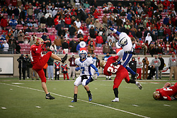 Bullitt East hosted Bell County in the Class 4A KHSAA Commonwealth Gridiron Bowl on Saturday, Dec. 13, 2008, at Papa John's Cardinal Stadium in Louisville, Ky.(photo by Jonathan Palmer)