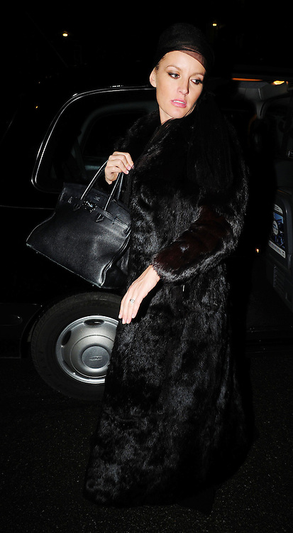 16.JAN.2009 - LONDON<br /> <br /> DAVINA TAYLOR ARRIVING AT KATE MOSS'S 35TH BIRTHDAY PARTY HELD AT THE MODELS ST.JOHNS WOOD HOME.<br /> <br /> BYLINE MUST READ : EDBIMAGEARCHIVE.COM<br /> <br /> *THIS IMAGE IS STRICTLY FOR UK NEWSPAPERS AND MAGAZINES ONLY*<br /> *FOR WORLD WIDE SALES AND WEB USE PLEASE CONTACT EDBIMAGEARCHIVE - 0208 954 5968*