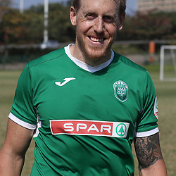 Michael Morton of AmaZulu during a AmaZulu FC warm up match between  AmaZulu FC and Real Kings FC at People's Park AmaZulu FC training ground, Moses Mabhida Stadium in Durban, South Africa. 9h August 2017 (Photo by Steve Haag AmaZulu FC )
