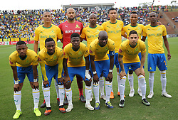 16092018(Durban) Sundowns team during AmaZulu FC targeted an upset win over Mamelodi Sundowns when the teams meet at King Zwelithini Stadium on 16 September 2018<br /> Picture: Motshwrai Mofokeng/African News Agency (ANA)