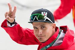 Brazil Rio de Janeiro 12. August 2016 Marina di Gloria, Rio 2016 Olympic Games, Racing day 4, 49er Race Course <br /> <br /> ©Juerg Kaufmann go4image.com