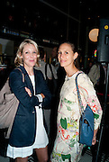 AMELIE VON WEDAL; ARIANNE LEVENE, Brunch to celebrate the launch of Art HK 11. Miss Yip Chinese Cafe. Meridian ave,  Miami Beach. 3 December 2010. -DO NOT ARCHIVE-© Copyright Photograph by Dafydd Jones. 248 Clapham Rd. London SW9 0PZ. Tel 0207 820 0771. www.dafjones.com.