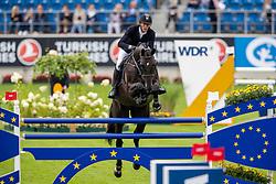 Staut Kevin, FRA, Calevo 2<br /> CHIO Aachen 2019<br /> Weltfest des Pferdesports<br /> © Hippo Foto - Stefan Lafrentz<br /> Staut Kevin, FRA, Calevo 2