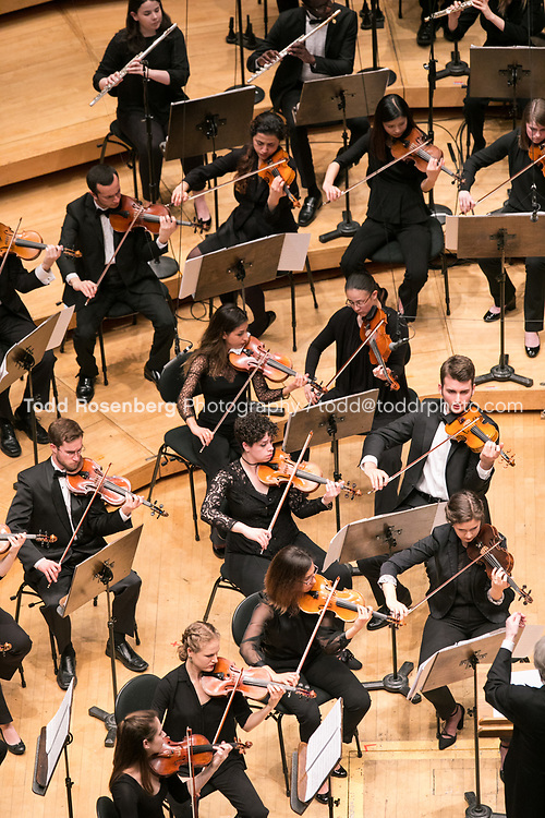 5/24/17 7:30:07 PM<br /> <br /> DePaul University School of Music<br /> DePaul Symphony Orchestra's Spring Concert at Orchestra Hall<br /> <br /> Cliff Colnot, Conductor<br /> <br /> Claude Debussy (1862-1918)<br /> Prelude to the Afternoon of a Faun<br /> <br /> Pyotr Ilyich Tchaikovsky (1840-1893)<br /> Symphony No. 5 in E Minor, Op. 64<br /> <br /> &copy; Todd Rosenberg Photography 2017