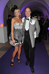 HARRY & BODIL BLAIN at The Surrealist Ball in aid of the NSPCC in association with Harpers Bazaar magazine held at the Banqueting House, Whitehall, London on 17th March 2011.