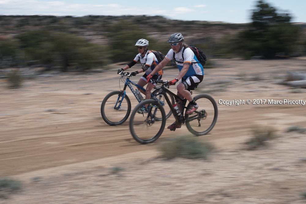 SHOT 5/20/17 1:36:15 PM - Emery County is a county located in the U.S. state of Utah. As of the 2010 census, the population of the entire county was about 11,000. Includes images of mountain biking, agriculture, geography and Goblin Valley State Park. (Photo by Marc Piscotty / © 2017)
