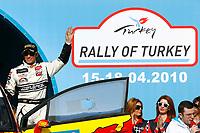 MOTORSPORT - WRC 2010 - RALLY OF TURKEY - <br /> ISTANBUL (TUR) - 15 TO 18/04/2010 - PHOTO : ALEXANDRE GUILLAUMOT / DPPI <br /> PETTER SOLBERG (NOR) - PETTER SOLBERG WRT - CITROEN C4 WRC - AMBIANCE PORTRAIT
