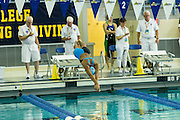 Isabella Fountain competes in the 50 Yard Freestyle finals of the 2016 NYSPHSAA Swimming and Diving Championships held at Ithaca College on Saturday.