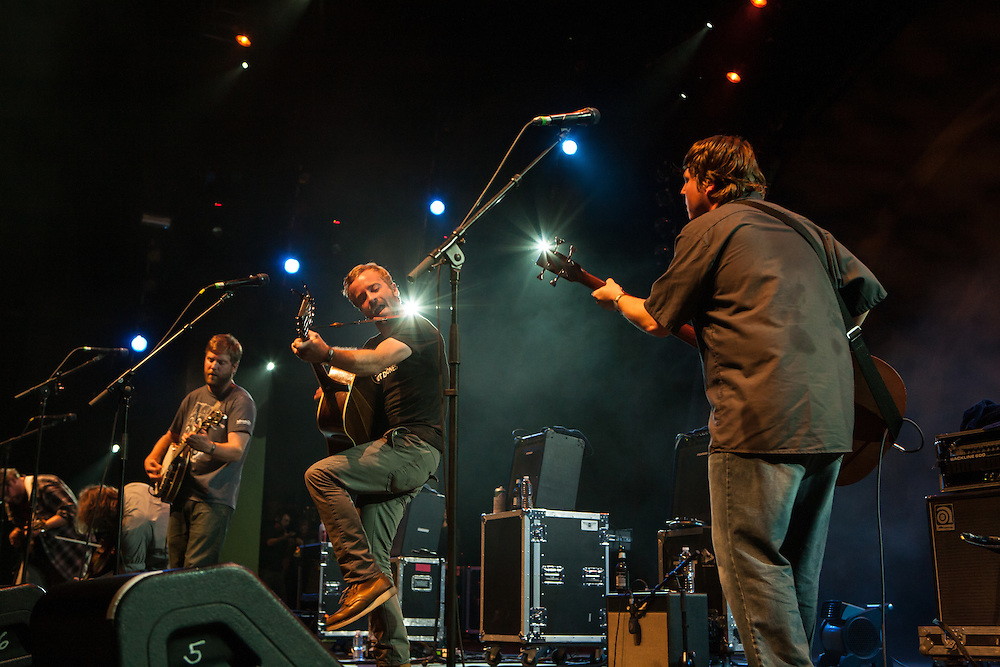 Trampled by Turtles on stage at Celebrate Brooklyn.