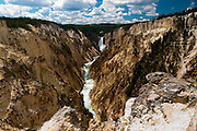 Grand Canyon of the Yellowstone River, Lower Falls
