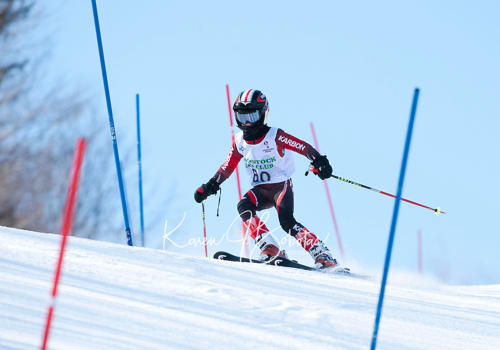 Tony Buttinger Memorial Slalom race at Gunstock   February 12,  2012.