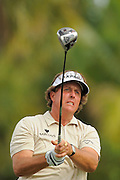 Phil Mickelson during the first round of the World Golf Championship Cadillac Championship on the TPC Blue Monster Course at Doral Golf Resort And Spa on March 8, 2012 in Doral, Fla. ..©2012 Scott A. Miller.